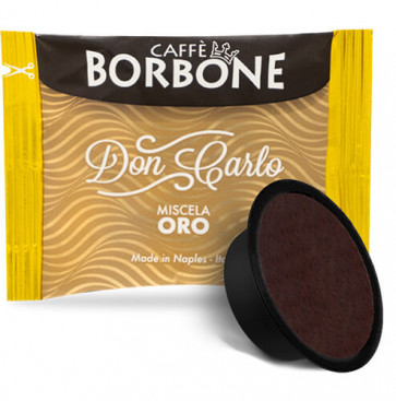 100 Capsule Caffè Borbone Don Carlo Miscela Oro Compatibili Lavazza A Modo Mio