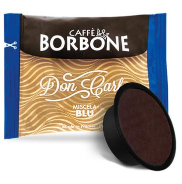 100 Capsule Caffè Borbone Don Carlo Miscela Blu Compatibili Lavazza A Modo Mio
