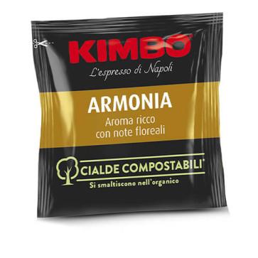 100 Cialde Compostabili Kimbo Caffè Miscela Armonia