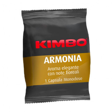 100 Capsule Kimbo Caffè Adesso 100% Arabica Armonia compatibili Espresso Point