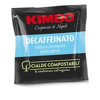 100 Cialde Compostabili Kimbo Caffè Miscela Decaffeinato