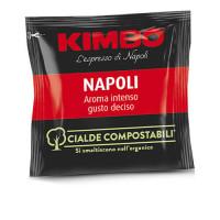 100 Cialde Compostabili Kimbo Caffè Miscela Napoli Espresso