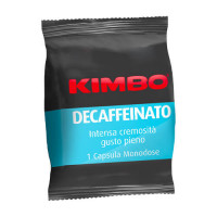 100 Capsule Kimbo Caffè Adesso Decaffeinato compatibili Espresso Point