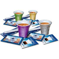 Kit accessori Caffè Borbone 100 pezzi | bicchieri, palettine e zucchero