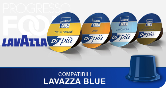 Solubili originali lavazza blue