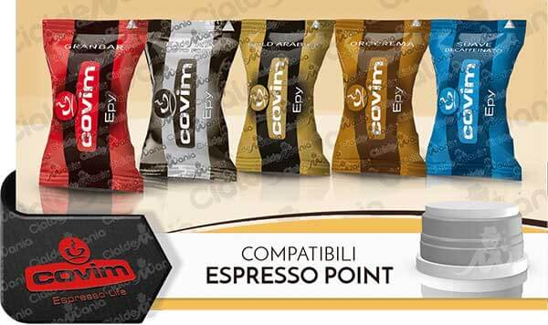 Capsule Covim Compatibili Espresso Point