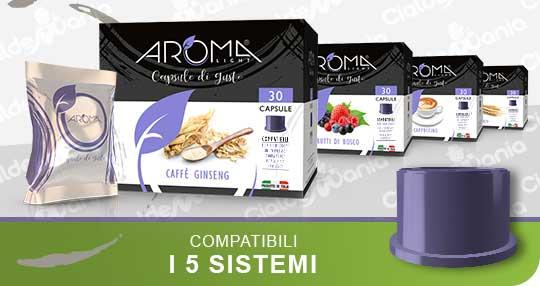 Solubili Aroma Light Compatibili 5 Sistemi