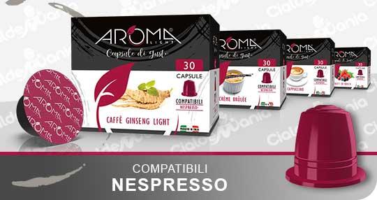 Bevande Solubili in capsule Nespresso